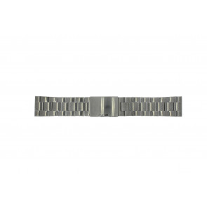 Klokkerem Fossil FS4662 / 12XXXX / 25XXXX Stål Antrasittgrå 24mm