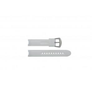 Klokkerem BTB.F.R.CH.05 / BTB.F.R.CH.01 Gummi Hvit 19mm