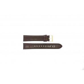 Klokkerem Hugo Boss HB-334-1-34-3114 / HB1513640 / HB659302886 Lær Brun 20mm