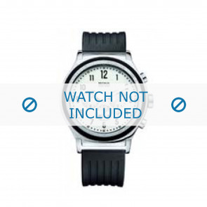 Hugo Boss klokkerem HB-54-1-14-2117 / HB1512324 Gummi / plast Svart 22mm