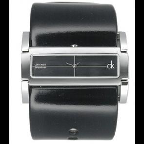 Klokkerem Calvin Klein K44231 Lær Svart