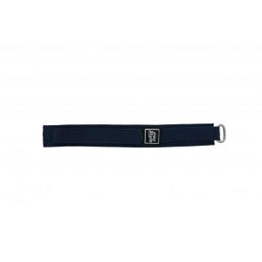 klokkerem med bellerrelås marineblå 18mm