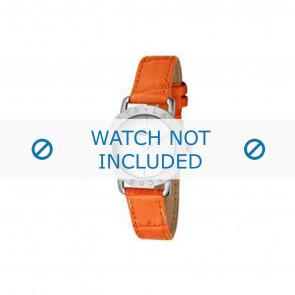 Lacoste klokkerem 2000513 / LC-05-3-14-0167 Lær Oransje 13mm + søm orange