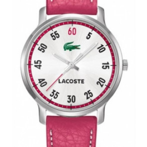 Klokkerem Lacoste 2000567 / LC-41-3-14-2199 Lær Rosa 20mm