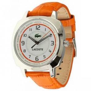Klokkerem Lacoste 2000600 / LC-47-3-14-2233 Lær Oransje 18mm
