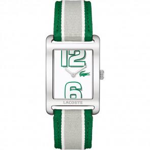 Klokkerem Lacoste 2000696 / LC-51-3-14-2261 Lær Grønn 20mm
