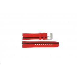Lotus klokkerem 15881/2 Gummi / plast Rød 22mm