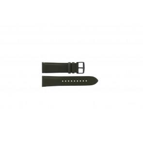 Fossil (Smartwatches) klokkerem S221345 Lær Grønn 22mm