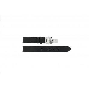 Klokkerem Seiko 7D46-0AB0 / SNP015P1 Lær Svart 20mm