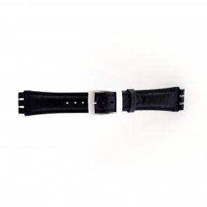 klokkerem for Swatch mørk blå 19mm PVK-SC14.05