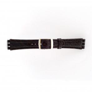 Klokkerem Swatch (alt.) 21412.27 Lær Brun 19mm