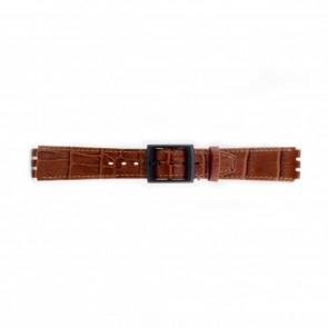 Klokkerem Swatch (alt.) SC16.03 Lær Brun 16mm
