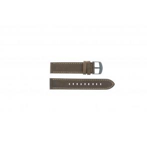 Timex klokkerem T49905 Lær Brun 20mm