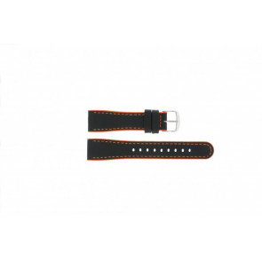 Timex klokkerem T2N428 Lær Svart 22mm
