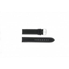Timex klokkerem T2N156 Lær Svart 20mm